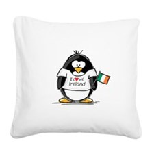 Ireland.png Square Canvas Pillow