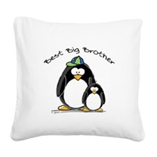 Best Big Brother.jpg Square Canvas Pillow