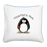 TeachersPet.jpg Square Canvas Pillow