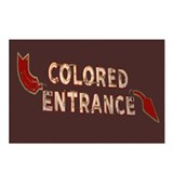 Colored Entrance Postcards (Package of 8)
