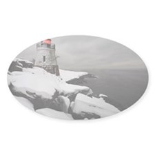 Castle Hill Lighthouse, Newpo Decal