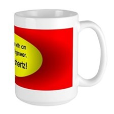 Electrical Engineer Oval Mug