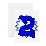 """2"" Greeting Cards (Pk of 10)"