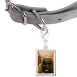 Close-up of a Voodoo statue Small Portrait Pet Tag