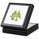 Waving Merry Christmas Keepsake Box