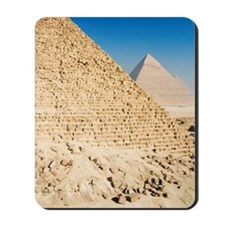 Pyramid of Khafre and Great Pyramid of Gi Mousepad