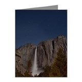 Yosemite Falls in Moonlight Note Cards (Pk of 20)