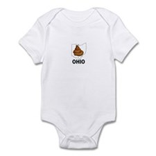 Cute Anti michigan Infant Bodysuit