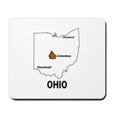 Cute Anti michigan Mousepad