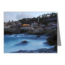 BUSAN-Yongkungsa Note Cards (Pk of 20)