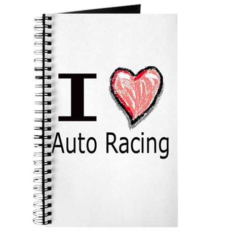 I Heart Auto Racing Journal