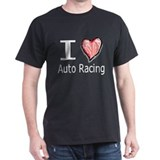 I Heart Auto Racing T-Shirt
