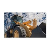 Digger machine Wall Decal