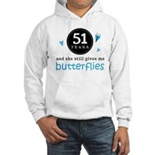 51 Year Anniversary Butterfly Hoodie