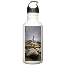 Peggy's Cove lighthous Sports Water Bottle