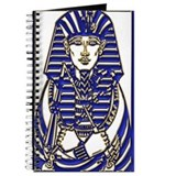 Blue and Gold King Tut Journal