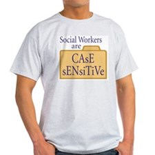 Social Workers Ash Grey T-Shirt