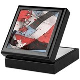 Abstract Design Keepsake Box