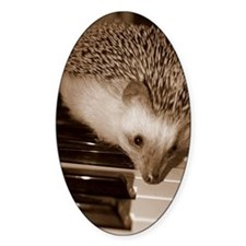 Bamboo the hedgehog tickling  Decal