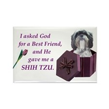 Shih Tzu Rectangle Magnet