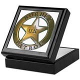 Border Patrol Keepsake Box