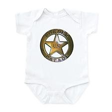 Border Patrol Infant Bodysuit
