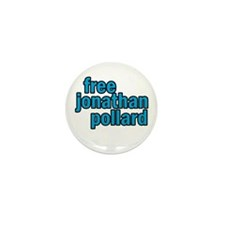 Free Jonathan Pollard Mini Button (100 pack)