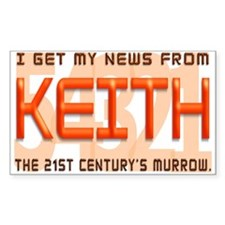 Keith Rectangle Decal