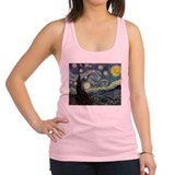 The_Starry_Night.jpg Racerback Tank Top