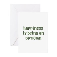Happiness is being an OPTICIA Greeting Cards (Pack