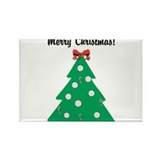 Volleyball Christmas! Rectangle Magnet (10 pack)