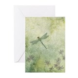 StephanieAM Dragonfly Greeting Cards (Pk of 20)