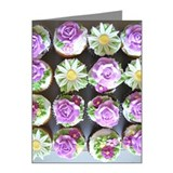 Buttercream Roses and fondan Note Cards (Pk of 20)