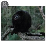 Black Howler Monkey Howling Puzzle