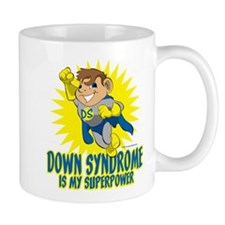 Down Syndrome Is My Superpower Mug