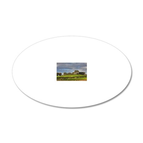 Autumn in Ireland 20x12 Oval Wall Decal