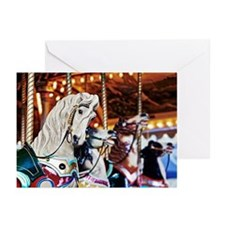 Carousel, Luna Park, Mel Greeting Cards (Pk of 10)