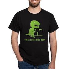 T-Rex Loves Disc Golf T-Shirt