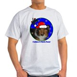 SANTA PAWS Sheltie T-Shirt
