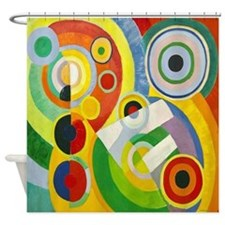 Robert Delaunay Cubist Shower Curtain