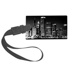 Chicago Famous Cityscape Luggage Tag