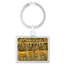Dried rice Landscape Keychain
