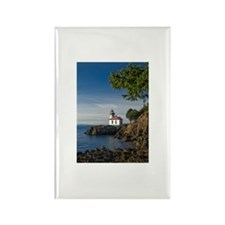 Lime Kiln Lighthouse on Rectangle Magnet (10 pack)