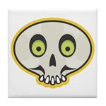 Skull Halloween Tile Coaster