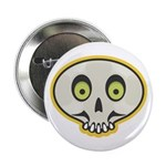 Skull Halloween Button