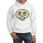 Skull Halloween Hooded Sweatshirt