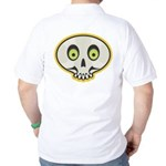 Skull Halloween Golf Shirt