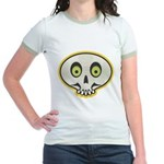Skull Halloween Jr. Ringer T-Shirt