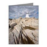 Lighthouse at Terrance Bay,  Note Cards (Pk of 20)