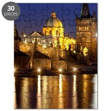 Prague, Charles Bridge. Puzzle